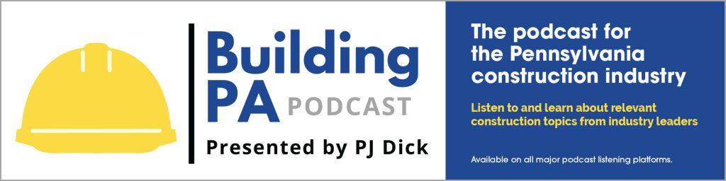 Listen to the Building PA Podcast