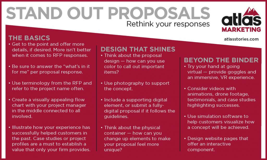 RFP Response - how to create proposals that stand out