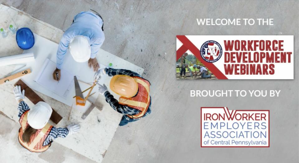 workforce development webinars train the construction industry to improve